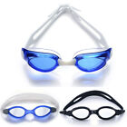 Adult Swimming Goggles Anti Fog UV Protection Training Swim Glasses Clear New