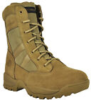 "Smith & Wesson Breach 2.0 Men's Tactical 8"" Side-Zip Boots - CoyoteTactical Footwear - 177897"