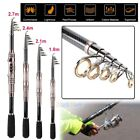 Kyпить Portable Carbon Fiber Superhard Travel Telescopic Fishing Rod Sea Spinning Pole на еВаy.соm