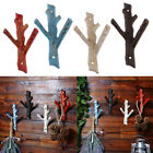 Vintage Tree Branch Hook Wall Door Mounted Clothes Towel Hat Key Hanger 4 Colors