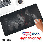 Large 1000*500*2MM World Map Speed Game Mouse Pad Mat Laptop Gaming Mousepad #za