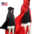 Halloween Hood Cloak Wicca Robe Medieval Cape Shawl Halloween Party Cosplay Hot