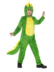 Deluxe Crocodile Costume All In One Animal World Book Day Fancy Dress Costume