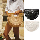 HOT!STYLISH Women's Bamboo Handbag Handmade Large Tote Bags Beach Shoulder Bag