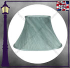 "DUCK EGG BLUE TWISTED MICRO PLEAT LAMP SHADE - FULLY LINED - 8"" 10"" 12"" 14"""