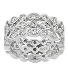 2.65 CT Certified Ladies Round Brilliant Cut Diamond Eternity Wedding Band Ring