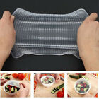 4PCS Silicone Wraps Seal Cover home Stretch Cling Film Food Fruit Storage Tools