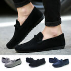 Fashion Men Casual Suede Driver Flat sole Slip on Loafer Shoes Driving Moccasins