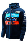 NEW TROY LEE DESIGNS TLD KTM TEAM GOPRO OAKLEY ZIP-UP HOODY NAVY ALL SIZES