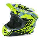 NEW 2017 FLY RACING DEFAULT BMX MTB DOWNHILL ADULT HELMET HI-VIS/BLACK ALL SIZES