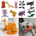 Various Types Chew Knot Toy Pet Puppy Dog Cat Cotton Braided Rope Grinding Teeth