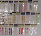 U CHOOSE  Assorted Recollections BLING RHINESTONES & FAUX PEARLS 3D Stickers