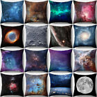 Sun Moon Planet Print Pillow Case Bed Waist Cushion Cover Sofa Decor Sanwood