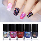 6ml Holographic Nail Art Stamping Polish Varnish Colorful Printing BORN PRETTY