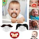 Silicone Funny Dummy Dummies Novelty Teeth Pacifier For Babies Toddler S0BZ
