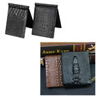 Charm Men Croco Leather Wallet Small Id Credit Card Holder Pocket Case Gifts NEW