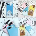 Apple 7 bare silicone phone case iphone6plus TPU  Korean cartoon phone shell