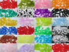 100 - 10mm Starflake / Paddlewheel Beads - Color Choice