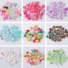 30pcs/Bag Random Mixed 15mm~45mm Resin Cabochon Flat Back Buttons Decoration