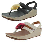 FitFlops Women's Rosita Leather Slip-on Sandals Shoes Size 8.5