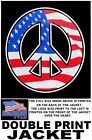 UNITED STATES VETERAN AMERICAN PRIDE FLAG PATRIOTIC PEACE SIGN USA JACKET XT130
