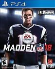 PS4 Madden NFL 18 Brand New Factory Sealed Playstation 4