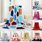Super Soft Warm Solid Warm Micro Plush Fleece Blanket Throw Rug Sofa Bedding Hot