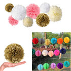 10Pcs Paper Flower/Honeycomb Balls Party Wedding Happy Festival Hanging Decor