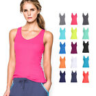 Under Armour Womens UA Double Threat Tank Sleeveless Gym Vest T 35% OFF RRP
