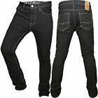 Mens SoulStar slim fit black jeans MP Cycle