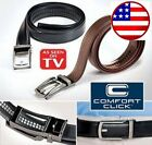 Kyпить COMFORT CLICK Leather Belt Automatic Adjustable Men As Seen On TV USA Seller на еВаy.соm