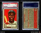 1952 Topps #312 Jackie Robinson Dodgers PSA 5 - EX