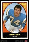 1967 Topps #125 Ron Mix Chargers VG $4.0 USD