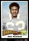 1975 Topps #44 Doug Wilkerson Chargers NM $1.75 USD