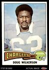 1975 Topps #44 Doug Wilkerson Chargers NM $1.85 USD on eBay