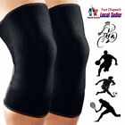 Plus Size Running Fitness Sports Leg Knee Brace Pad Compression Sleeve Support S
