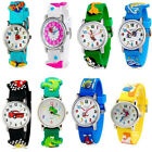 Student Kids Children Fashion Causal Cartoon Sports Wrist Watch Bracelet Gifts