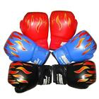 US Professional Children Flame Mesh Cuff Sanda Boxing Training Gloves For Kids