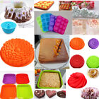 Silicone Cake Mold Pan Muffin Chocolate Pizza Pastry Baking Tray Mould Random