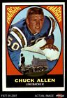 1967 Topps #129 Chuck Allen Chargers VG $1.8 USD