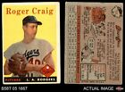 1958 Topps #194 Roger Craig Dodgers GOOD