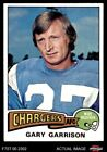 1975 Topps #230 Gary Garrison -  Chargers NM $1.25 USD