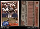 1981 Topps #456 Jeff Reardon Mets NM MT