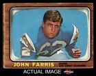 1966 Topps #122 John Farris Chargers San Diego St 2 - GOOD $2.45 USD on eBay