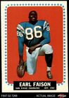 1964 Topps #157 Earl Faison Chargers NM $16.0 USD