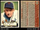 1952 Topps #125 Bill Rigney Giants EX