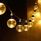 6m LED String Light Bulb 20 LED Lamp Beads Warm White Fairy Lamp Wedding Decor
