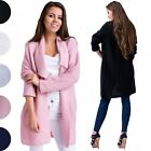 Glamour Empire. Women's Knitted Warm Cardigan Coat Waterfall Blazer Cardi. 976