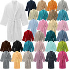 Mens Luxury Soft Toweling Bath Robe Cotton Dressing Gown House Coat
