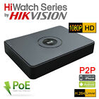 HiWatch by Hikvision 8 Channel HD 2MP 4MP 8 POE PORTS NVR-108-A/8P 1080P VGA